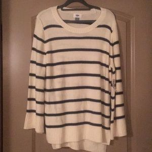 NWT Old Navy Bell Sleeve Stripe Sweater